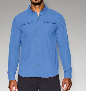 Under Armour Men's Iso-Chill Flats Guide Long Sleeve Shirt
