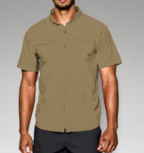 Under Armour Men's Iso-Chill Flats Guide Short Sleeve