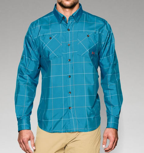 Under Armour Chesapeake Patterned Long Sleeve