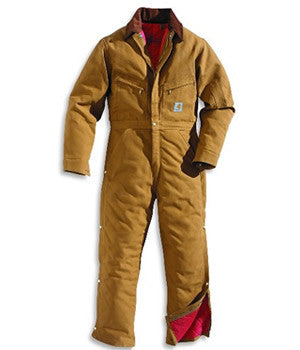 Carhartt Men's Insulated Coverall - X01BRN