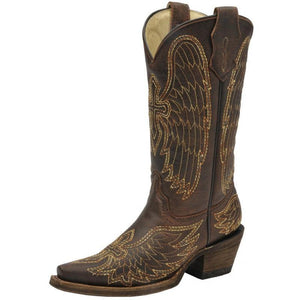 Corral Kids Wing & Cross Boot - A1028