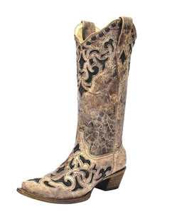 Corral Women's Stingray Inlay Boots - A3188