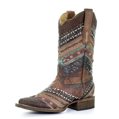 Corral Antonia Square Toe Boot