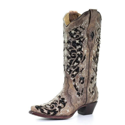 Women's Corral Ashley Inlay Boots - 3569