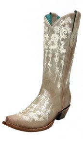 Women's Corral Embroidered Boot - C3178