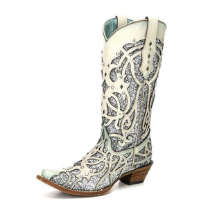 Women's Corral Purple Chamaleon Boots - C3377