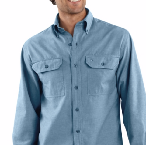 Carhartt Long Sleeve Chambray Shirt