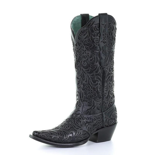 Corral Lorraine Black Inlay Boot