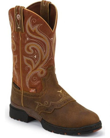 Justin George Strait Collection Waterproof Boot - GSL9041