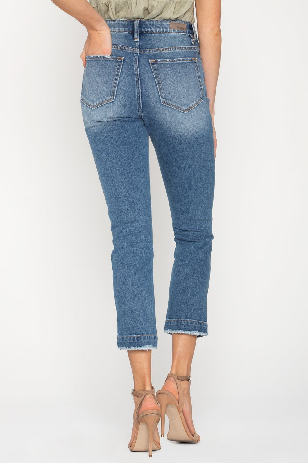 Fall into place Straight Jeans
