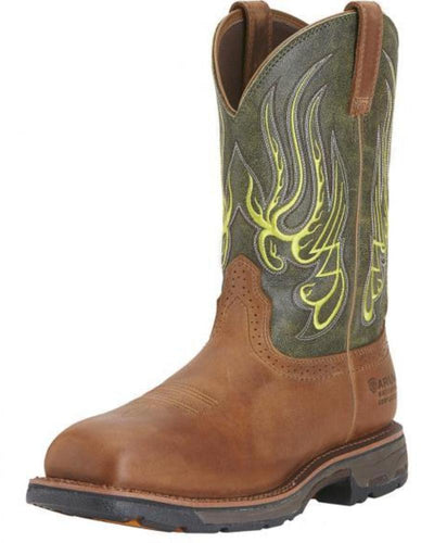 Ariat Men's Workhog Square Toe Mesteno H20 Composite Toe - 10015400