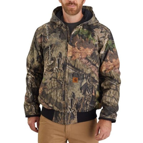 CARHARTT® HUNT DUCK INSULATED CAMO ACTIVE JAC - J221