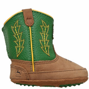 John Deere Johnny Popper Green Crib Boot - JD0186