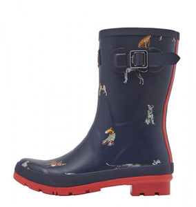 Joules Molly French Dog Rain Boot