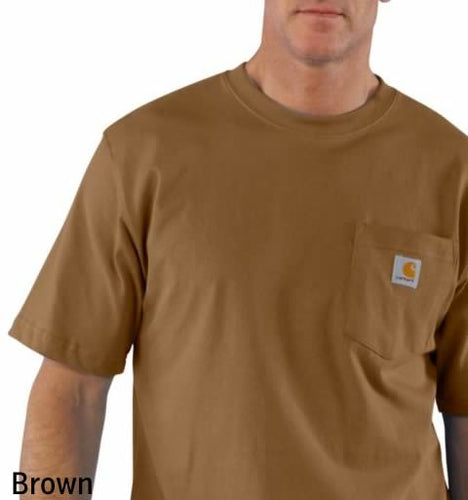 Carhartt Short-Sleeve Workwear Pocket T-Shirt (includes Big & Tall) - K87