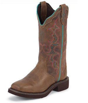 Women's Justin Boots Tan Jaguar Gypsy - L2900