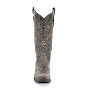 Circle G Distressed Filigree Boots