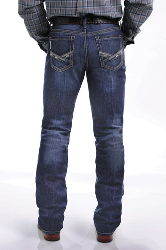 MEN'S SLIM FIT JANUARY IAN JEAN - DEEP RINSE
