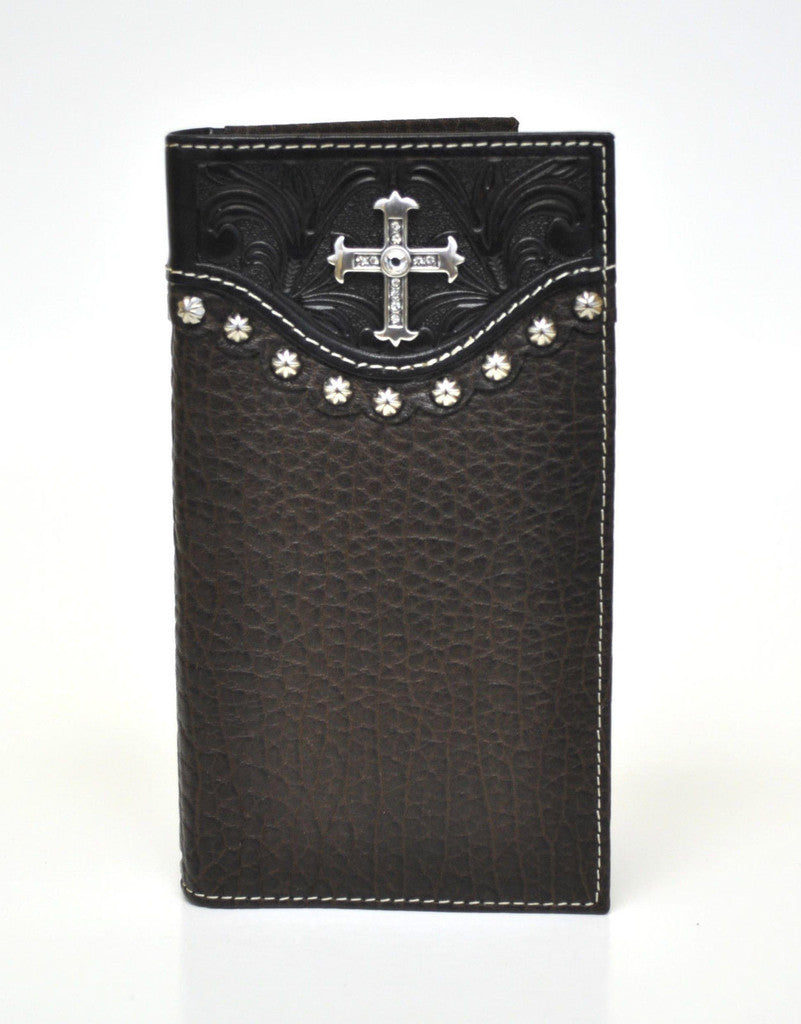 Nocona Crystal Cross Rodeo Wallet
