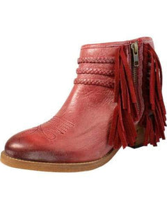 Women's Circle G Woven Booties - P5153