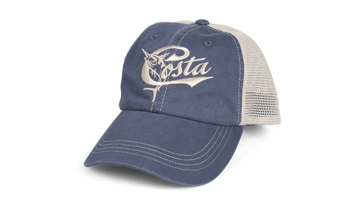 Costa Retro Trucker Blue/Stone Hat