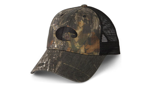 Costa Mesh Mossy Oak/Black Hat