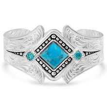Take a Chance Turquoise Cuff Bracelet