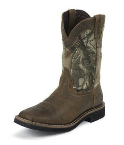 Justin Realtree Stampede Waterproof Square - WK4676