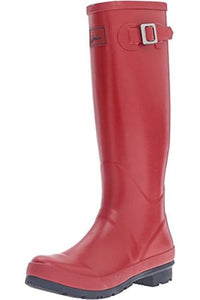 Joules Fieldwelly RainBoots - Red
