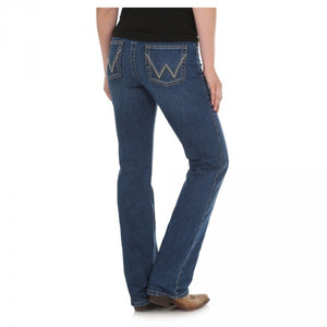 Wrangler Women's Q-Baby Ultimate Riding Jean - Gold Hill