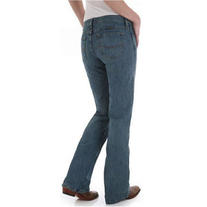 Wrangler Shiloh Stonewashed Cowgirl Cut Ultimate Riding Women's Jeans