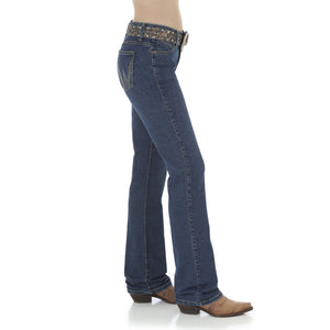 Wrangler Women's Q-Baby Ultimate Riding Boot Cut Jean - WRQ20BD
