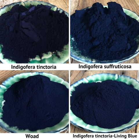 indigo powders