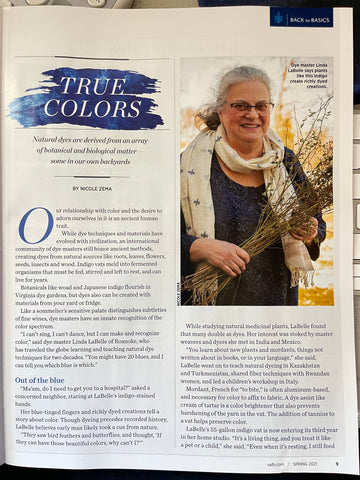 Linda LaBelle Cultivate Magazine Page 9 May 2021