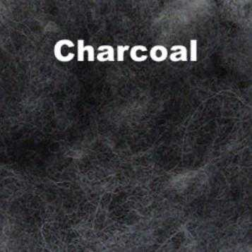 Harrisville Wool Fleece Charcoal