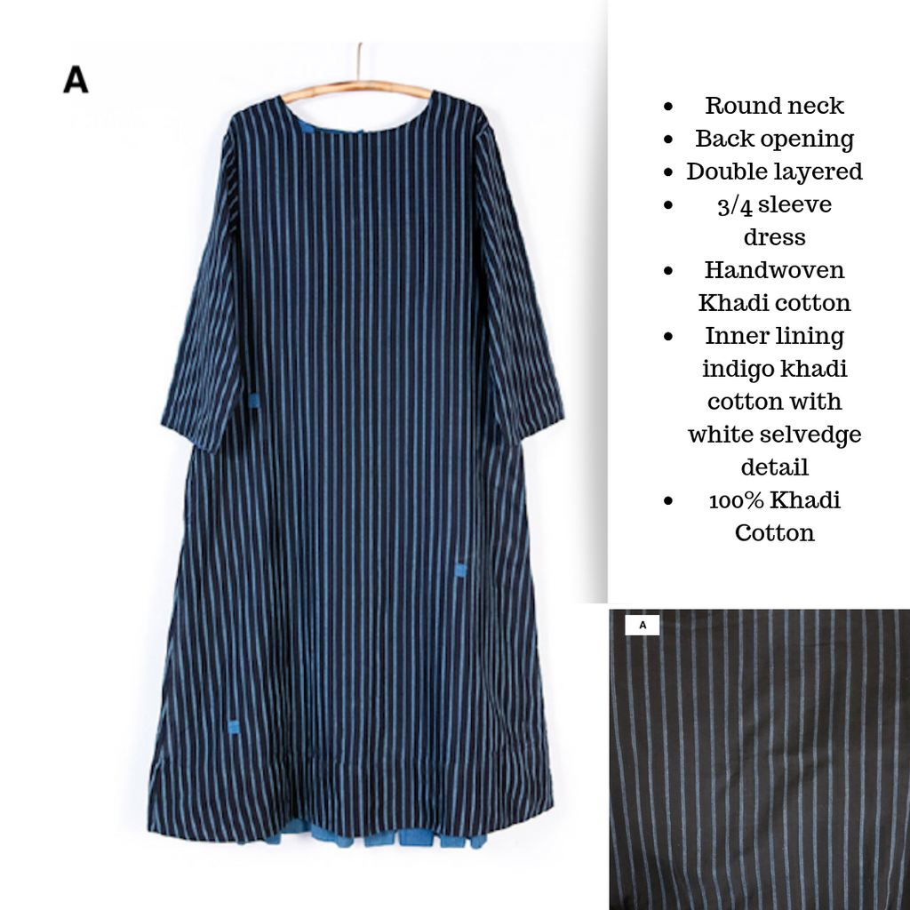 Indigo Dresses from Maku
