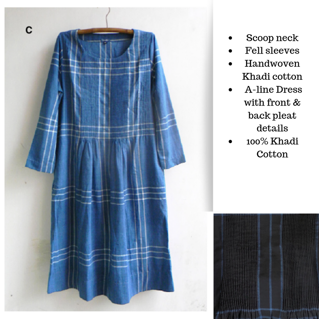 Indigo Dresses from Maku | The Yarn Tree - fiber, yarn and natural dyes