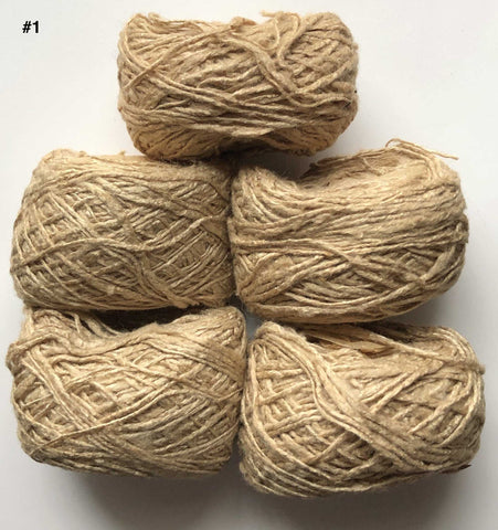 Handspun Eri Silk Yarn | The Yarn Tree - fiber, yarn and natural dyes