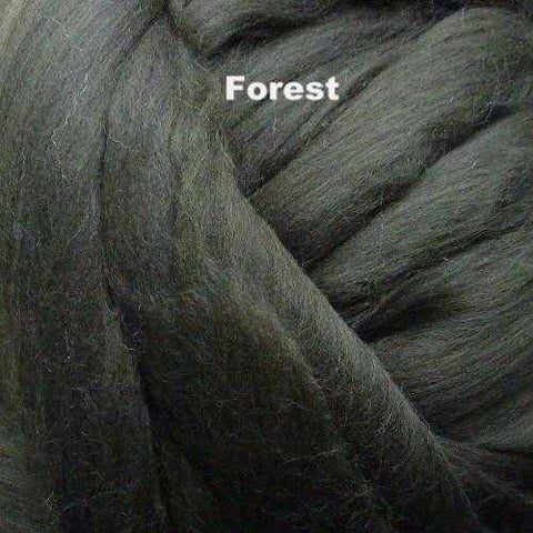 Foxglove Solid-colored Merino Wool Forest