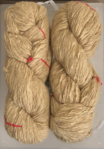 Handspun Cricula Silk Yarn