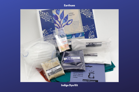 Natural Dyes - Earthues Indigo Dye Kit | The Yarn Tree - fiber, yarn and natural dyes