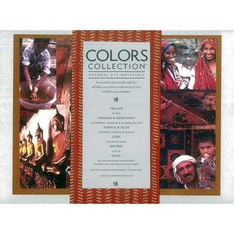 Natural Dyes - Earthues Color Collection Kit