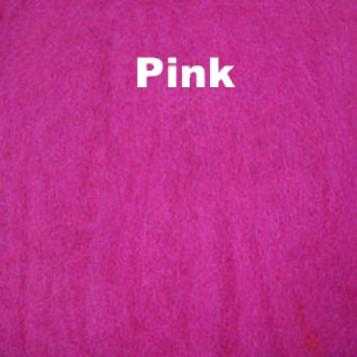Harrisville Wool Fleece Pink
