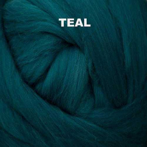 Foxglove Solid-colored Merino Wool Teal