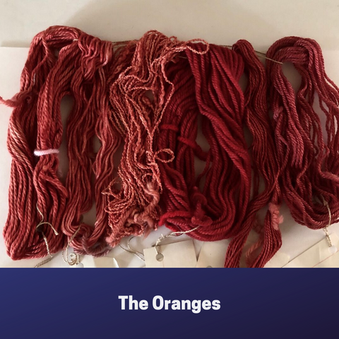 Mini skeins the oranges