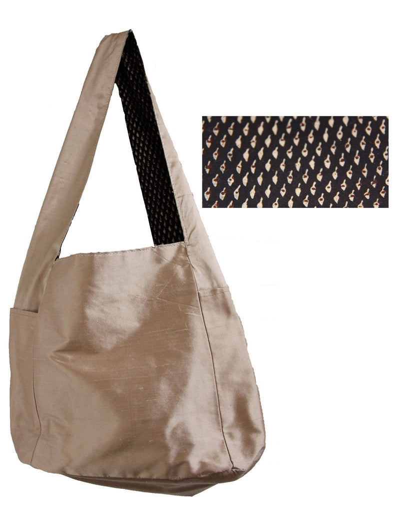 Handmade by Linda Reversible Shoulder Bag #2
