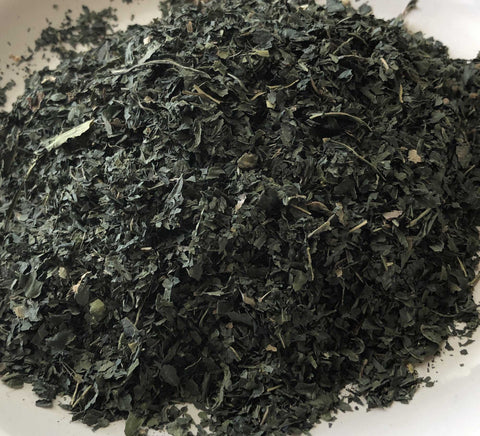 Natural Dyes - Dried  and Crushed Japanese Indigo Leaves - Persicaria tinctoria