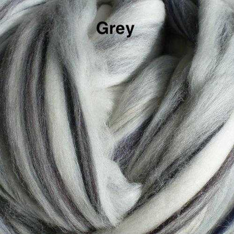 Merino Wool Roving for Felting and Spinning - The Neutrals | The Yarn Tree - fiber, yarn and natural dyes