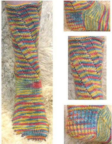 Knitting Patterns - Tutti Frutti Sock
