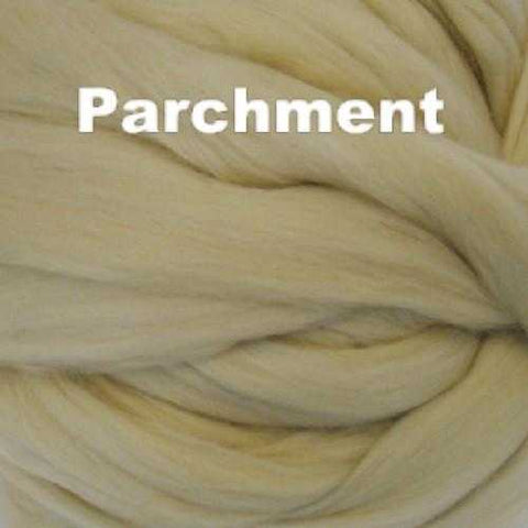 Merino Wool Roving Parchment